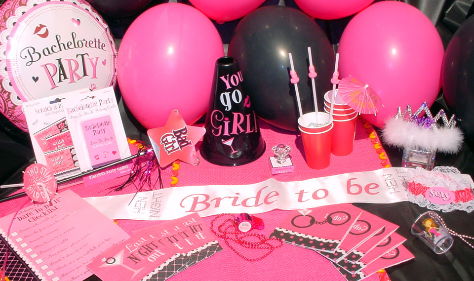 Image of: Amazing Bachelorette Party Decoration Ideas