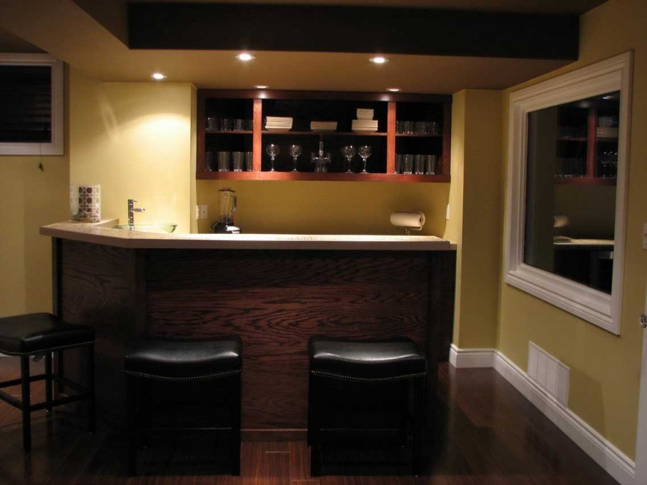 basement bar design books