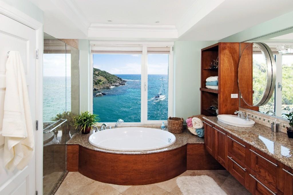 Image of: bathroom beach decor ideas