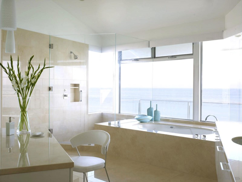Image of: beach house bathroom decor