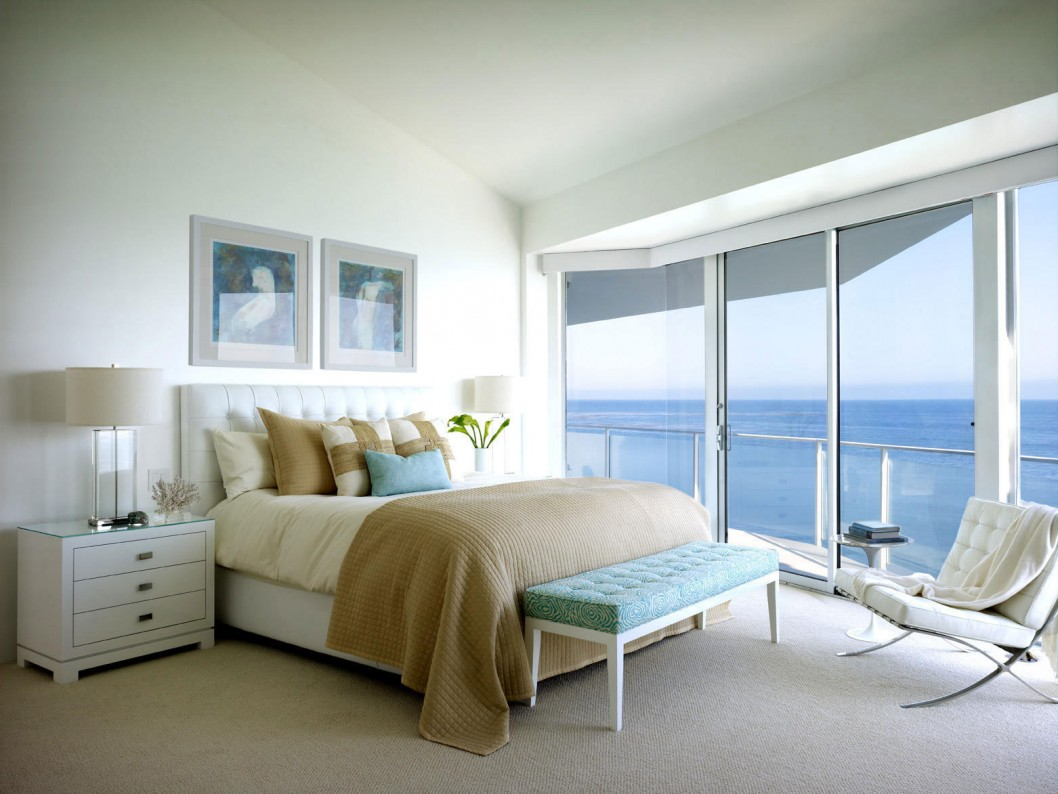 Image of: beach theme bedroom decor