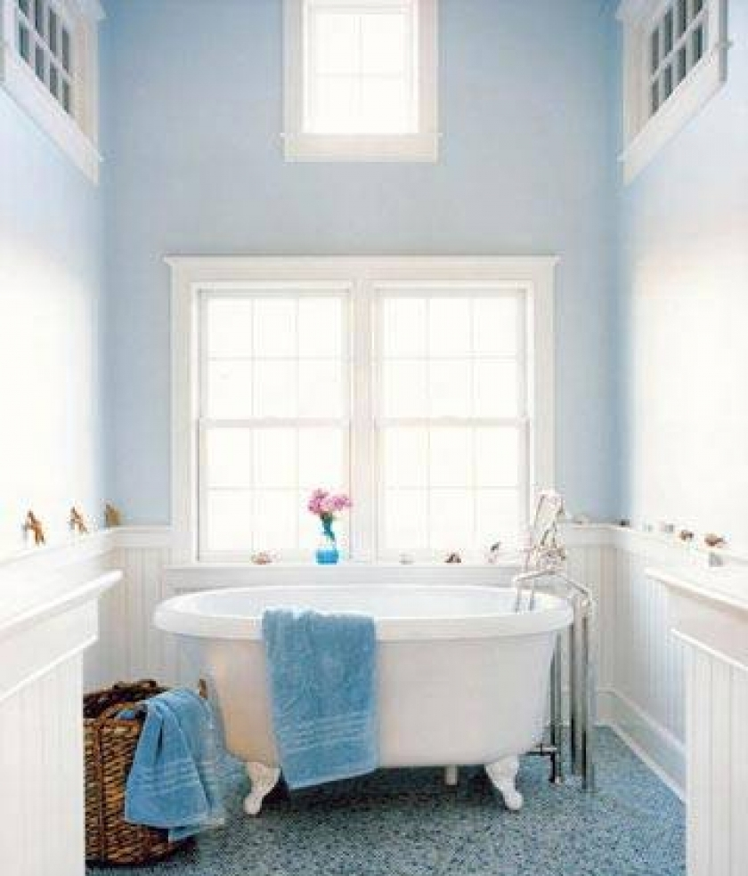 Image of: beach theme decor for bathroom