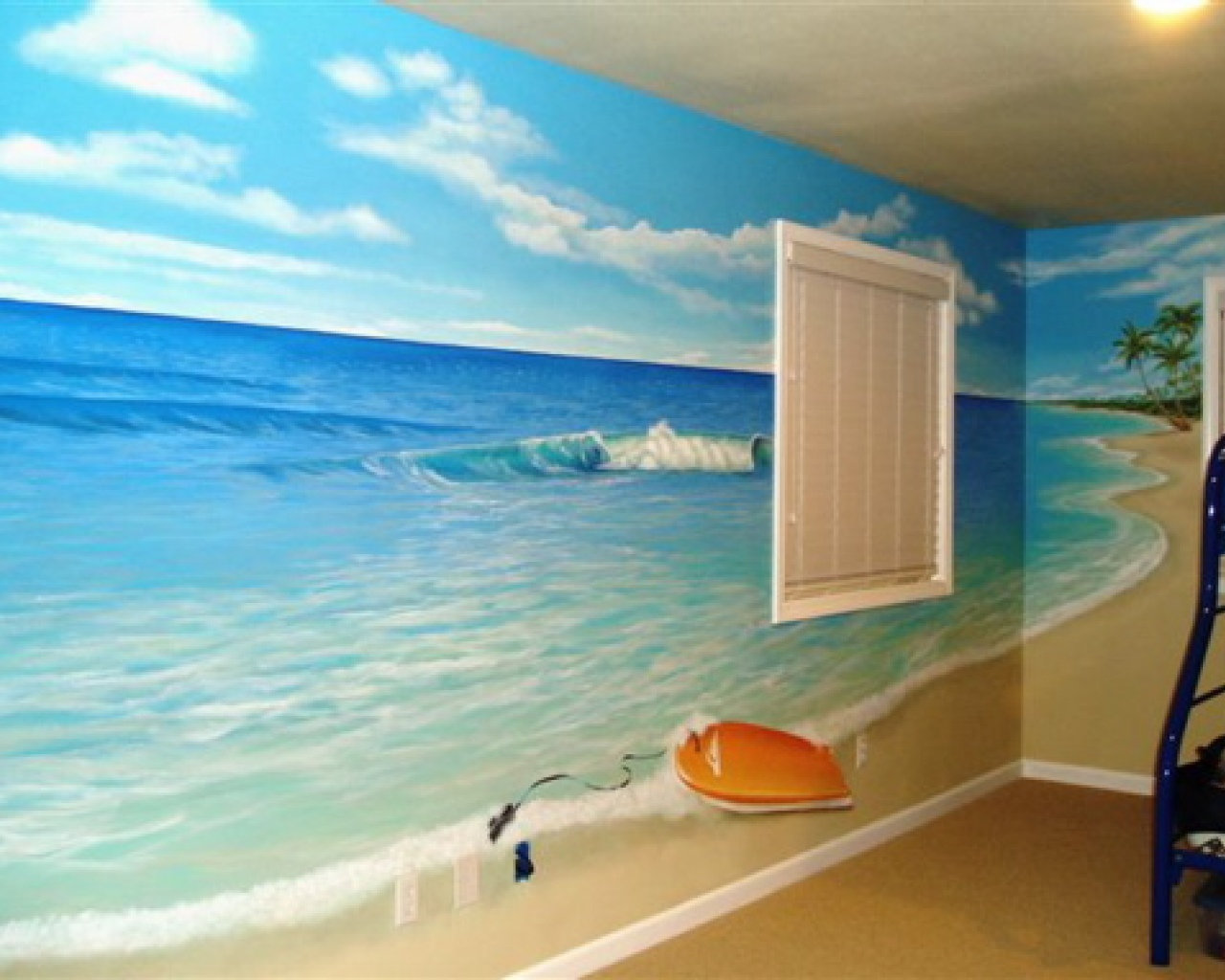 Image of: beach theme decor