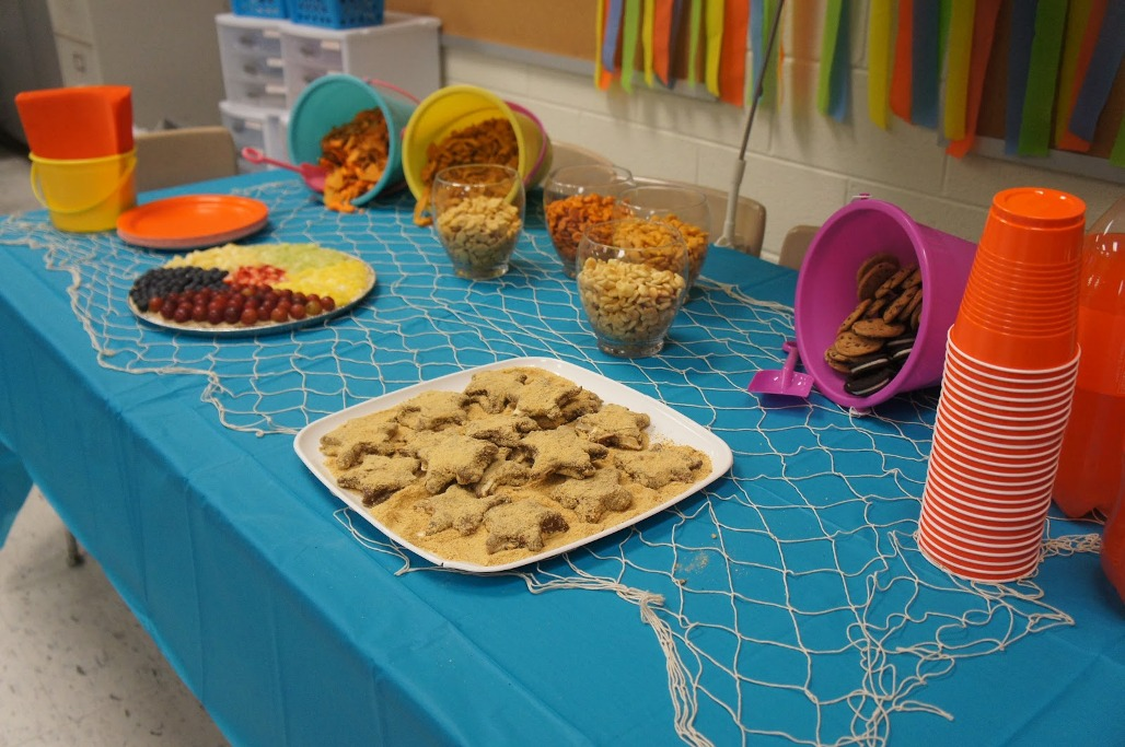 Image of: beach theme decorations