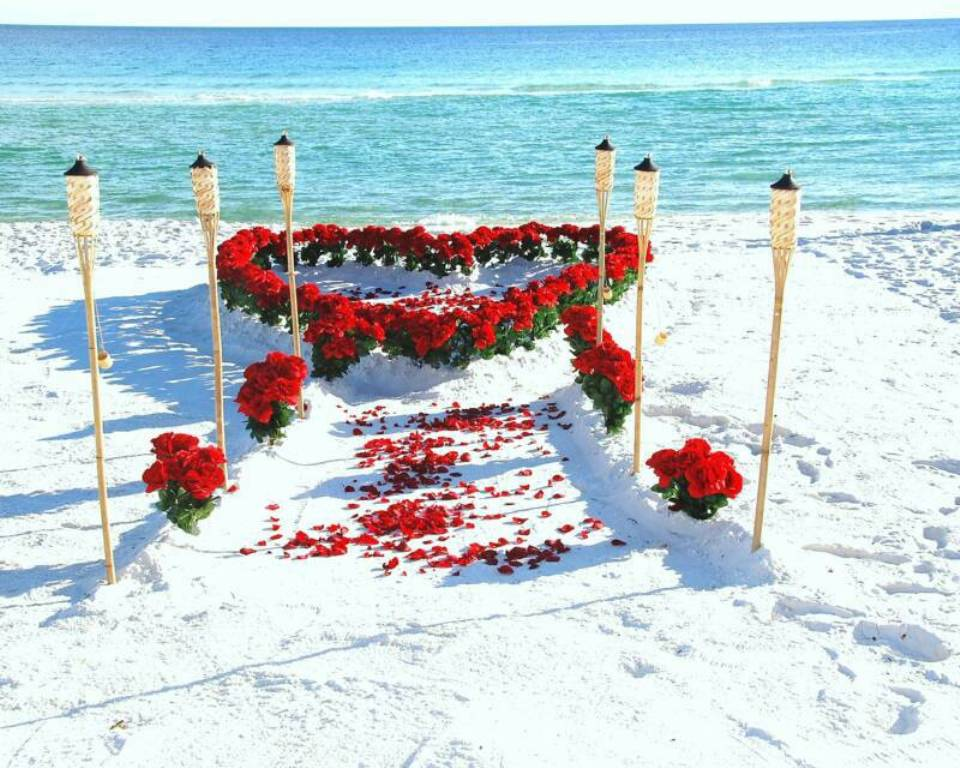 beach theme wedding decorations