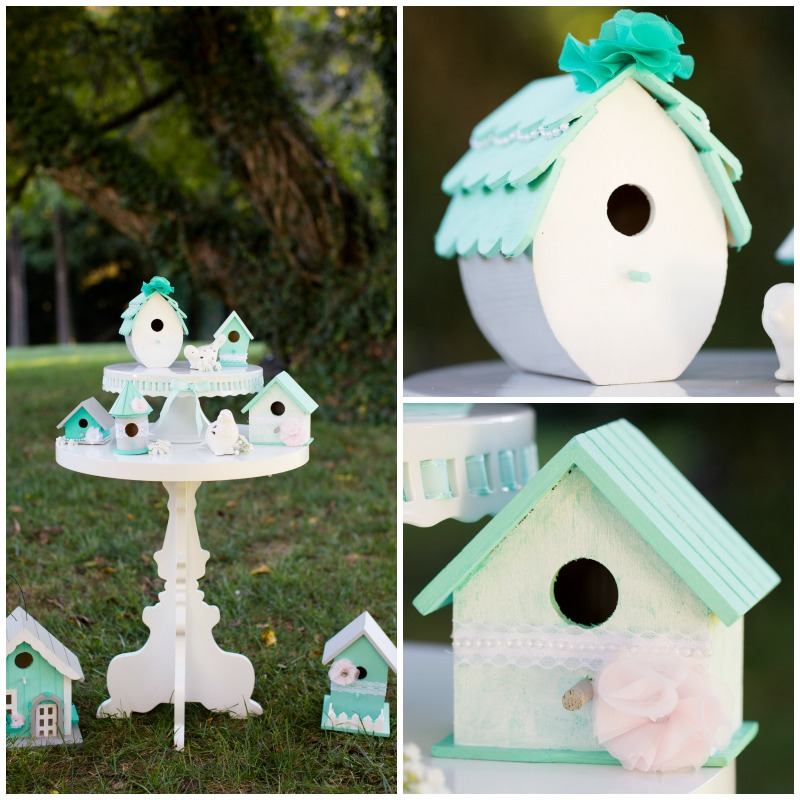 Image of: bird house decorations