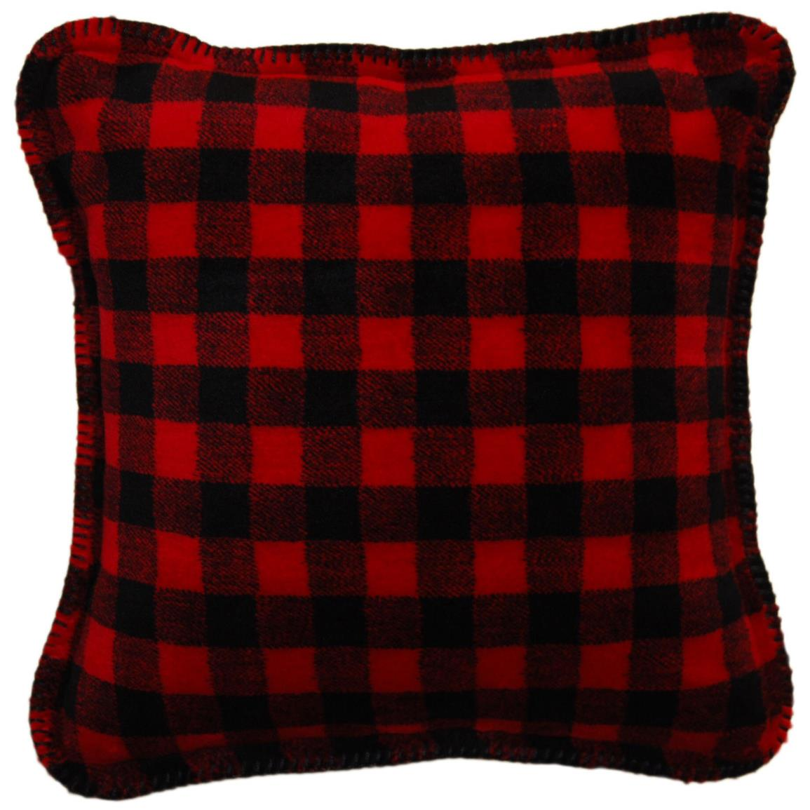 Image of: black and red decorative pillows