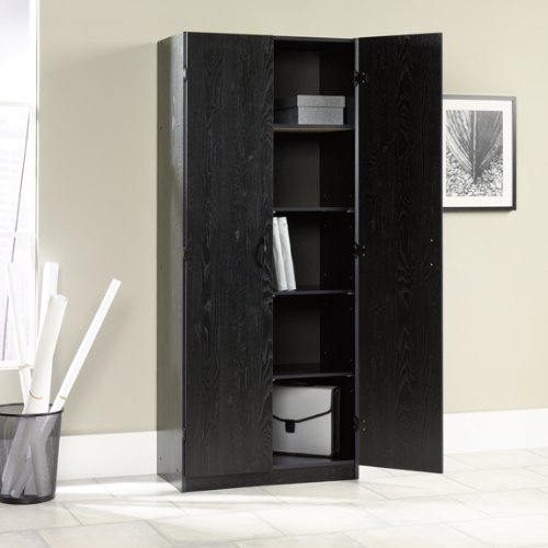 Image of: black kitchen pantry storage