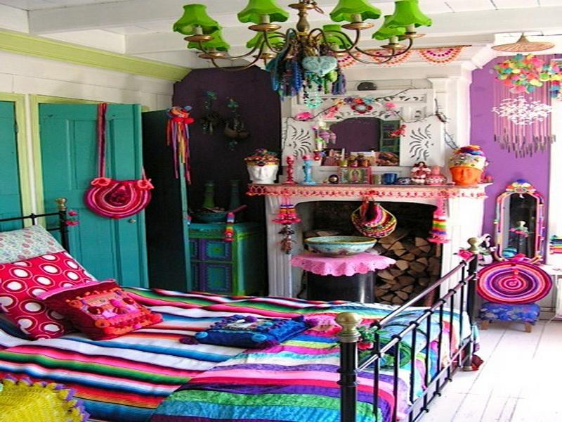 Image of: bohemian room decor ideas
