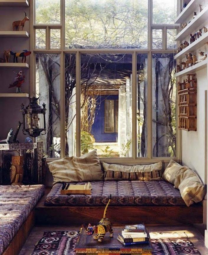 Image of: boho style home decor