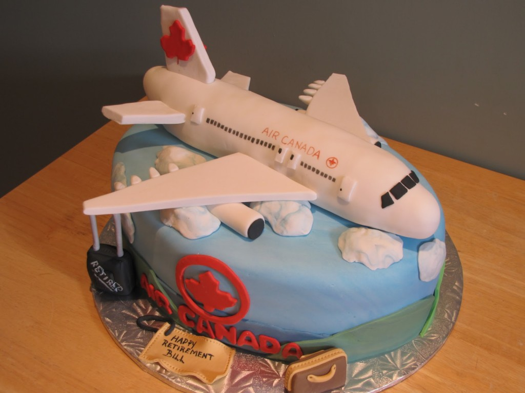 cake decorating ideas airplane