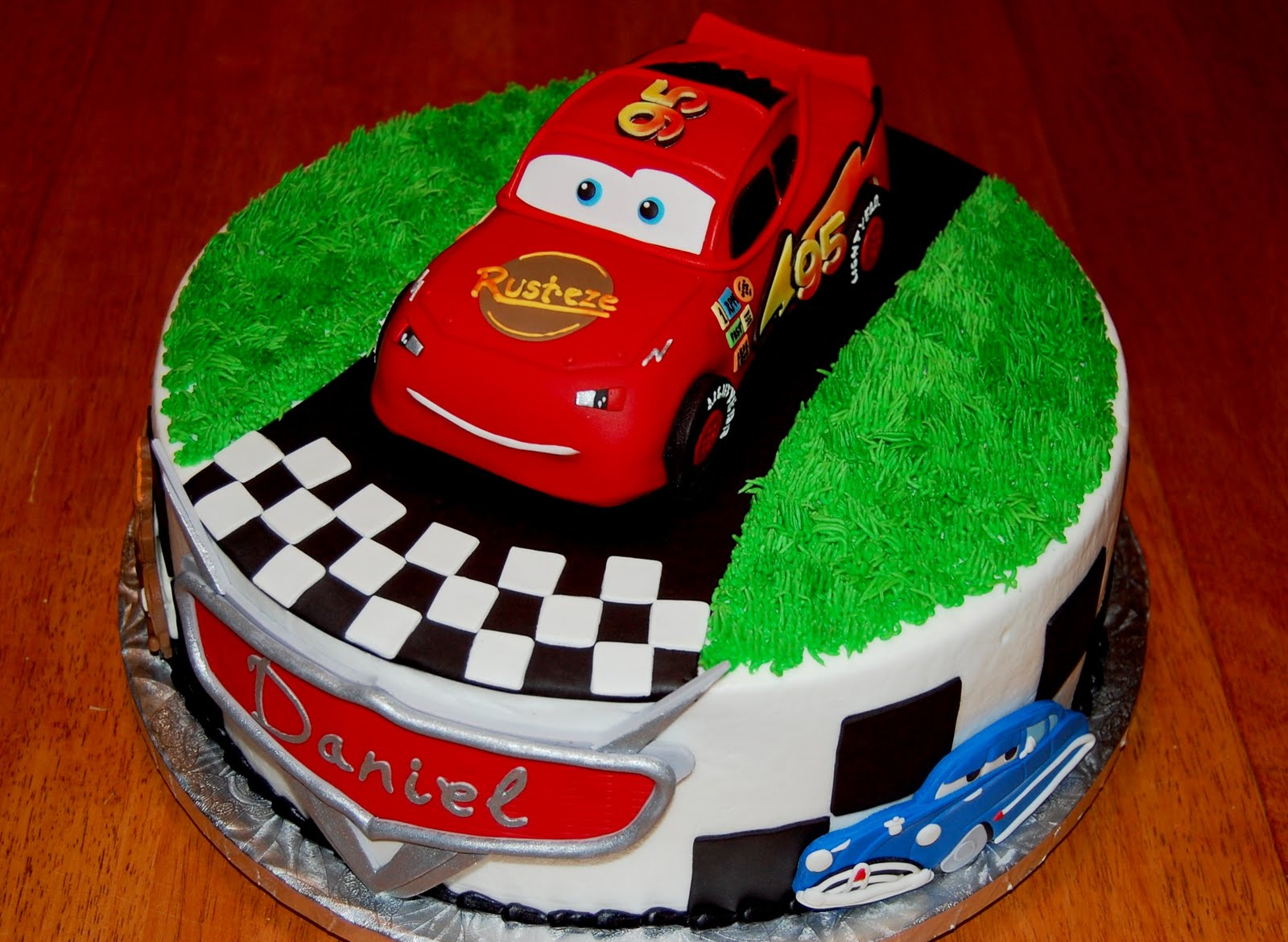 Image of: cake decorating ideas cars