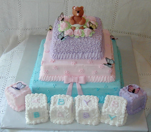 cake decoration ideas baby shower