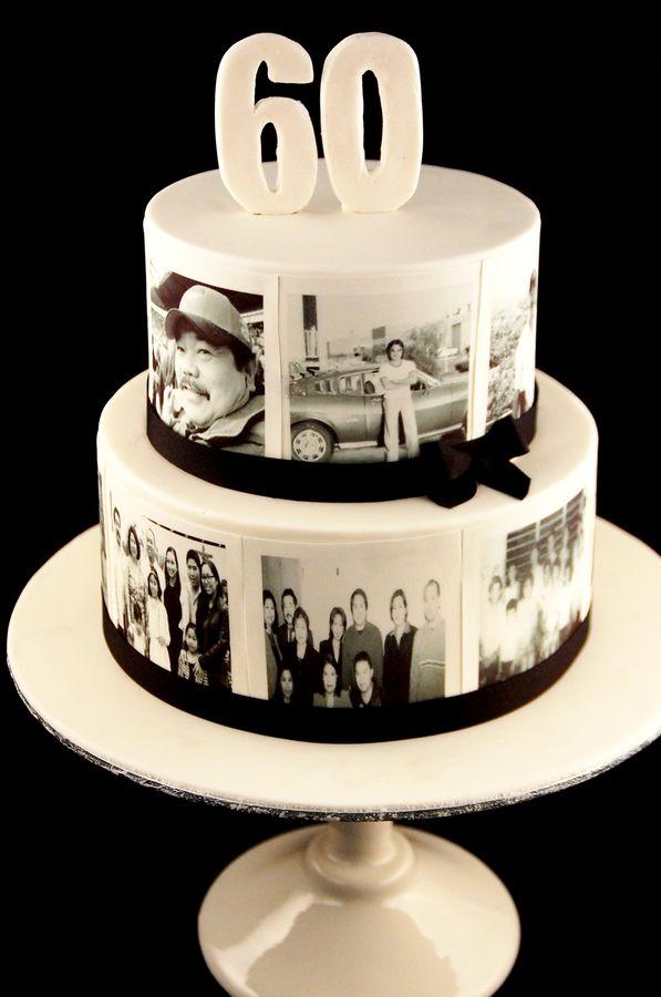 cake decoration ideas for 60th birthday