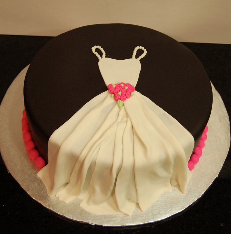 cake decoration ideas for bridal shower