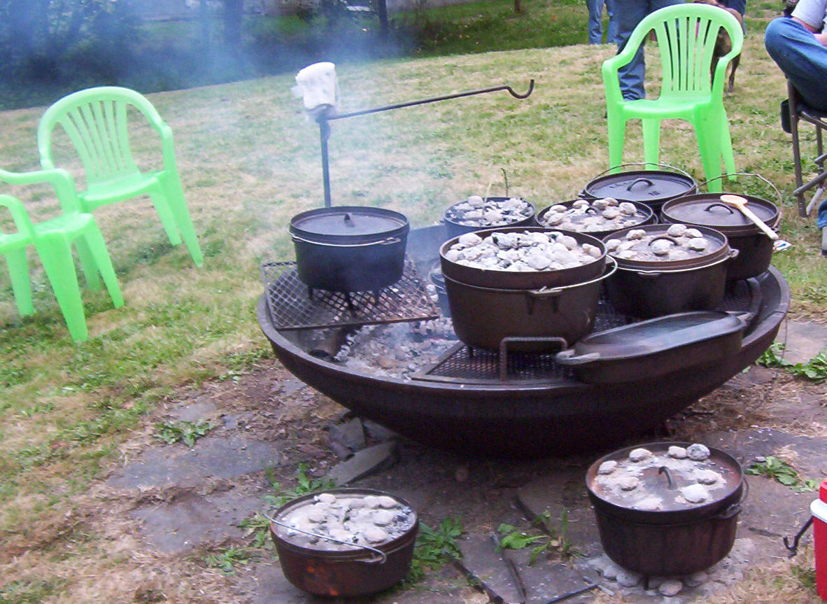 Image of: camp chef dutch oven table