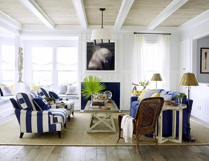 Image of: coastal chic wall decor