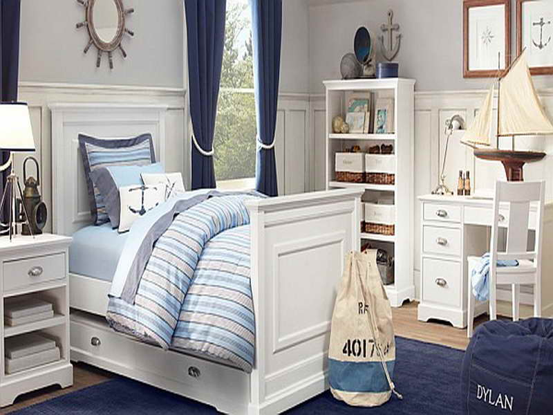 Image of: coastal decor bedroom ideas