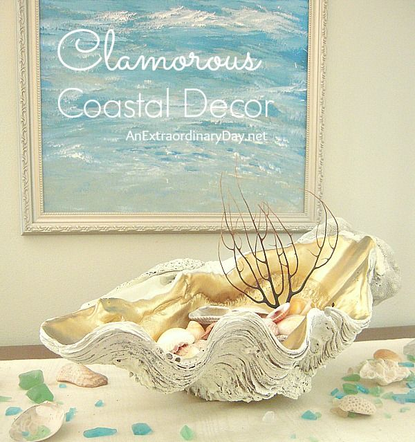 Image of: coastal decor diy