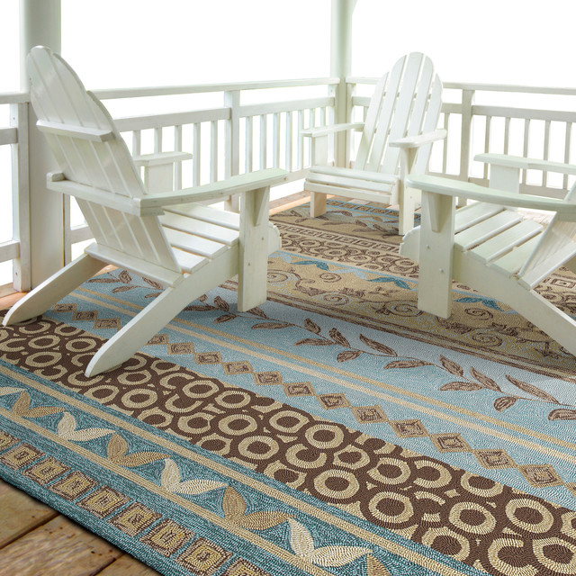 Image of: coastal decor rugs