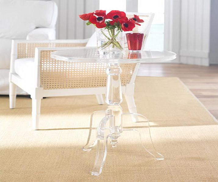 Image of: coffee table acrylic