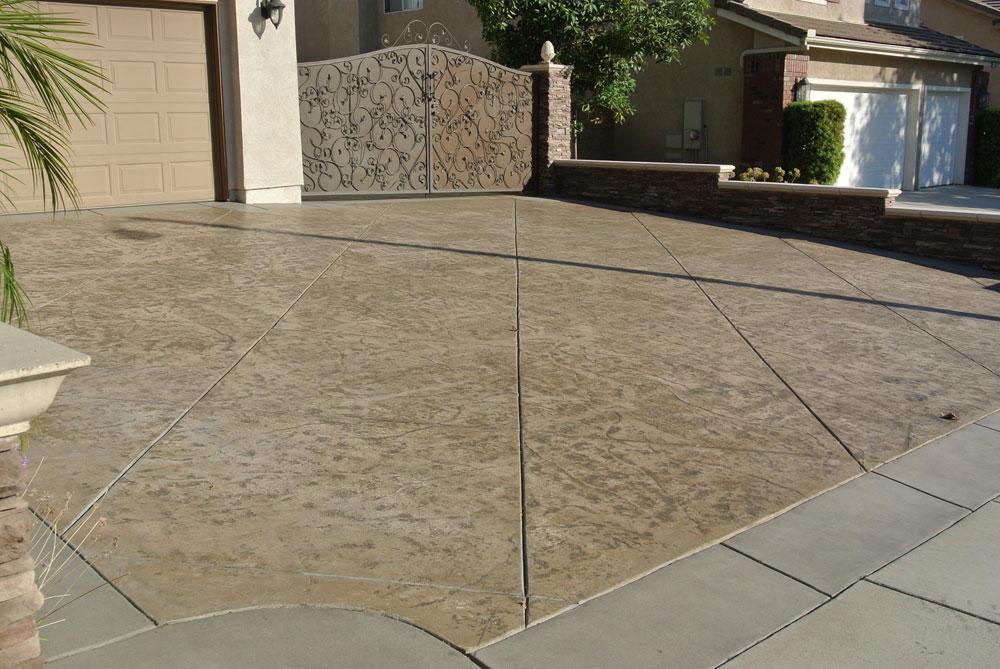 Image of: concrete designs for patios