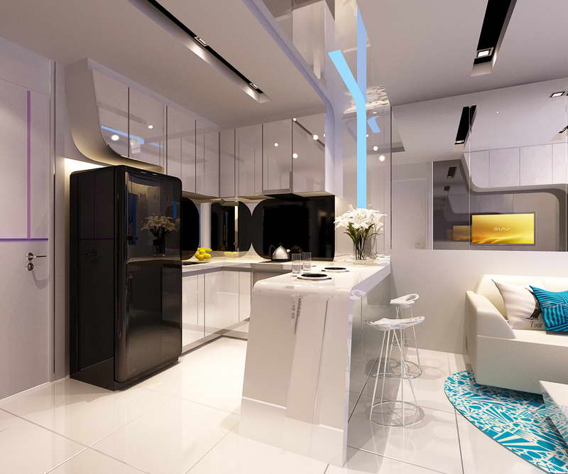 Image of: cool studio apartment design ideas