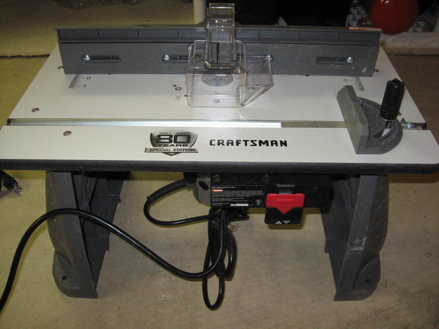 Image of: craftsman professional router table