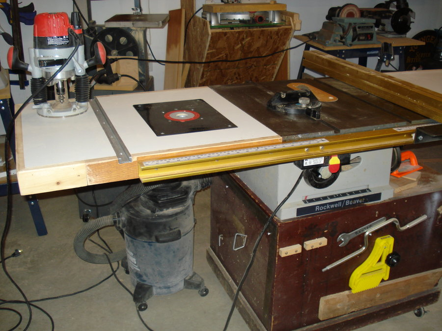 Image of: craftsman router table combo