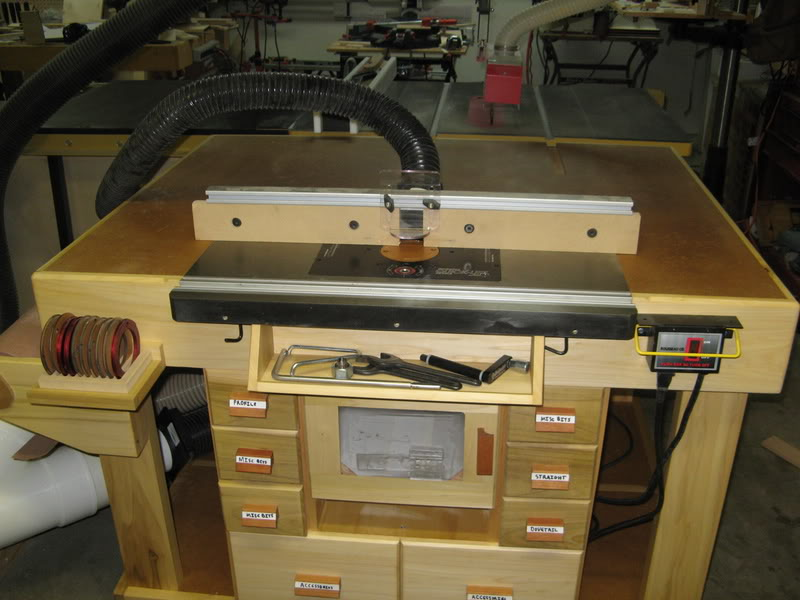 Image of: craftsman router table manual
