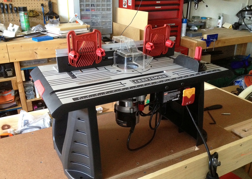 Image of: craftsman router table