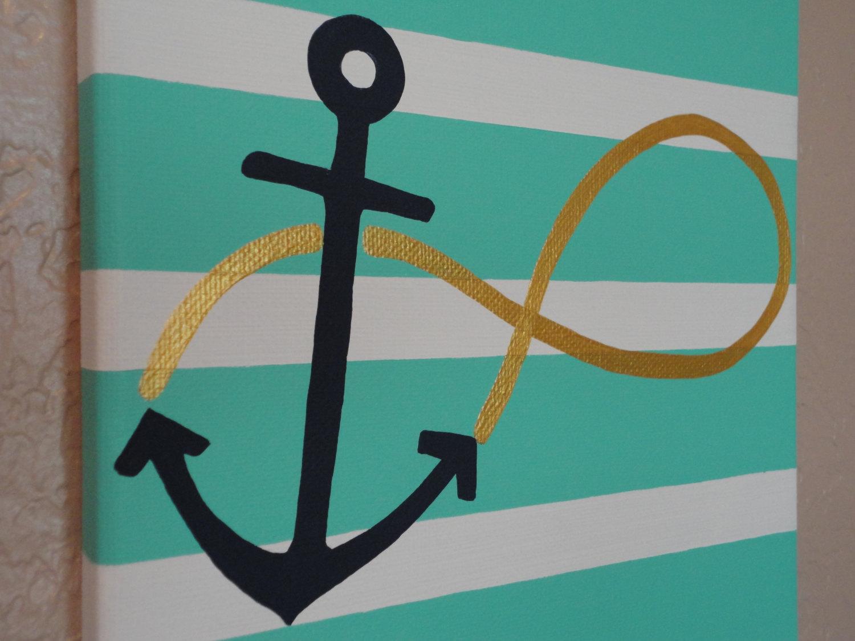 cute anchor wall decor