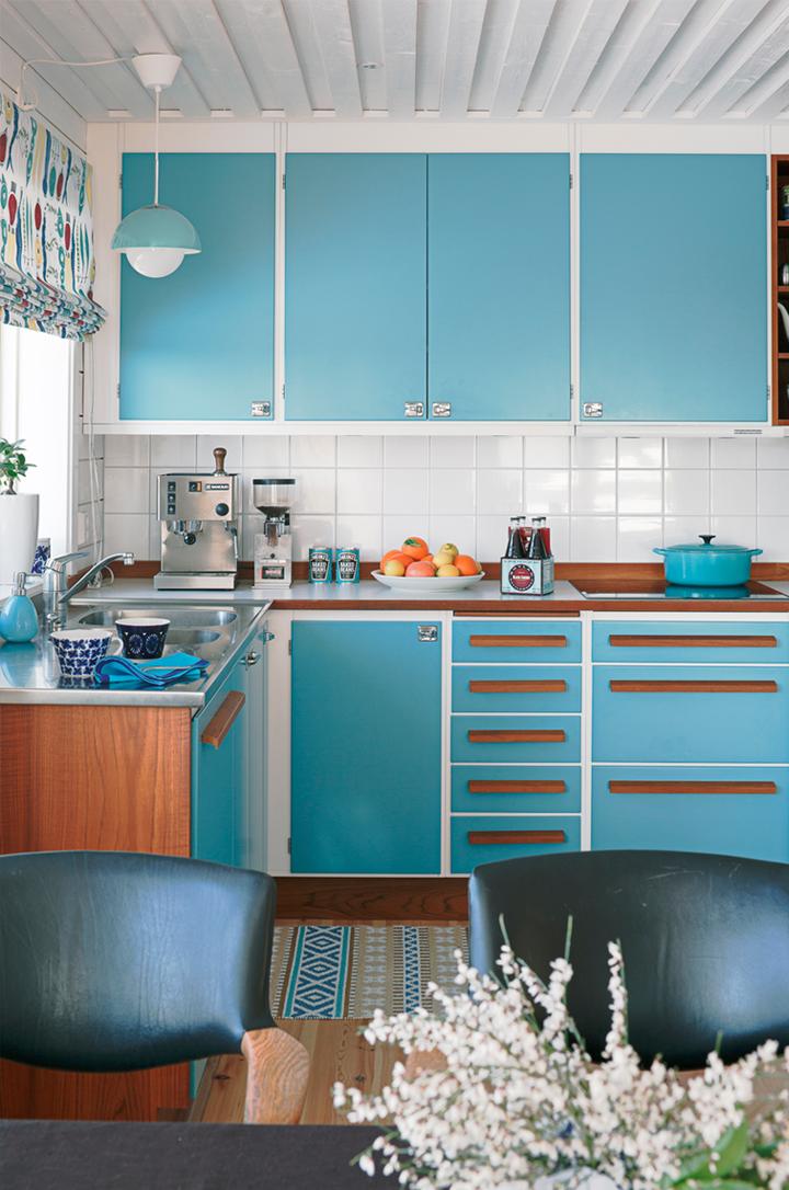 Image of: cute retro kitchen ideas