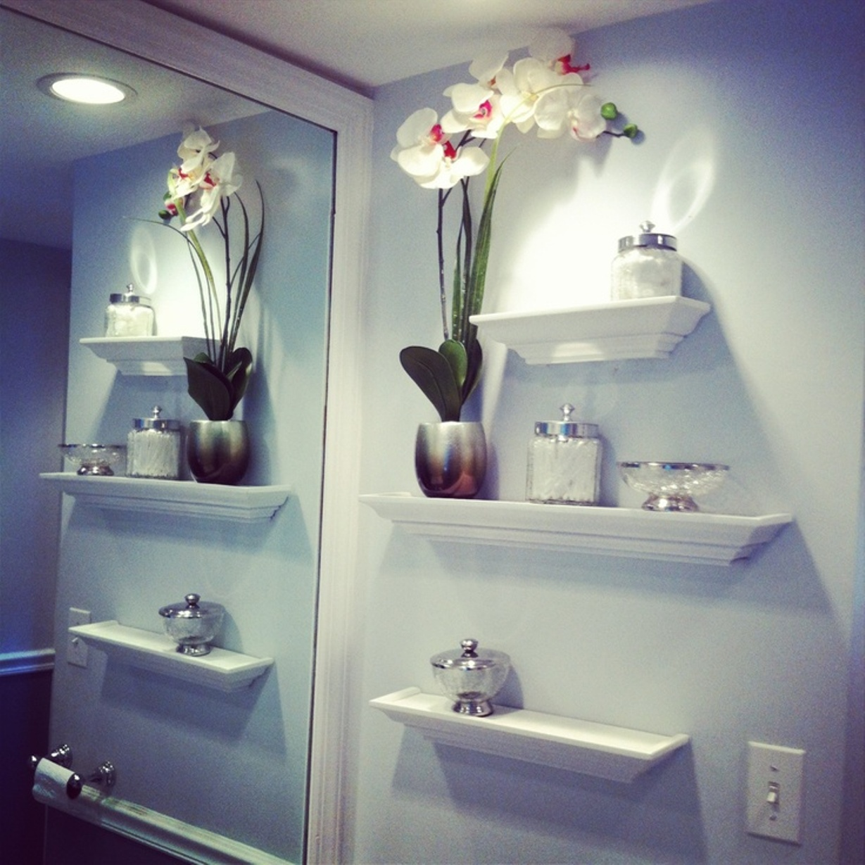 Image of: decor shelves