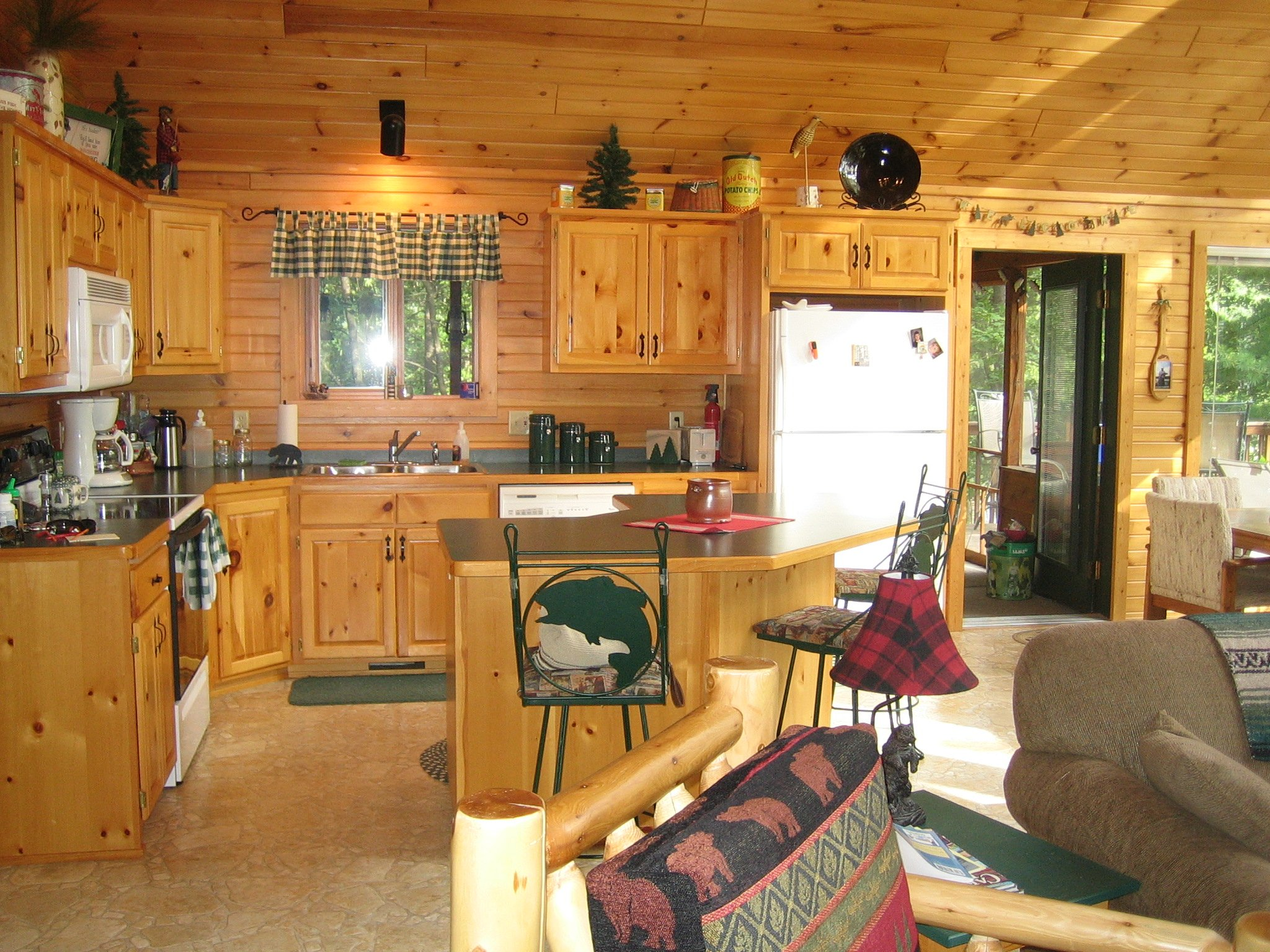 Image of: decorating a rustic cabin