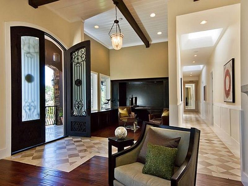 Image of: decorating entryway
