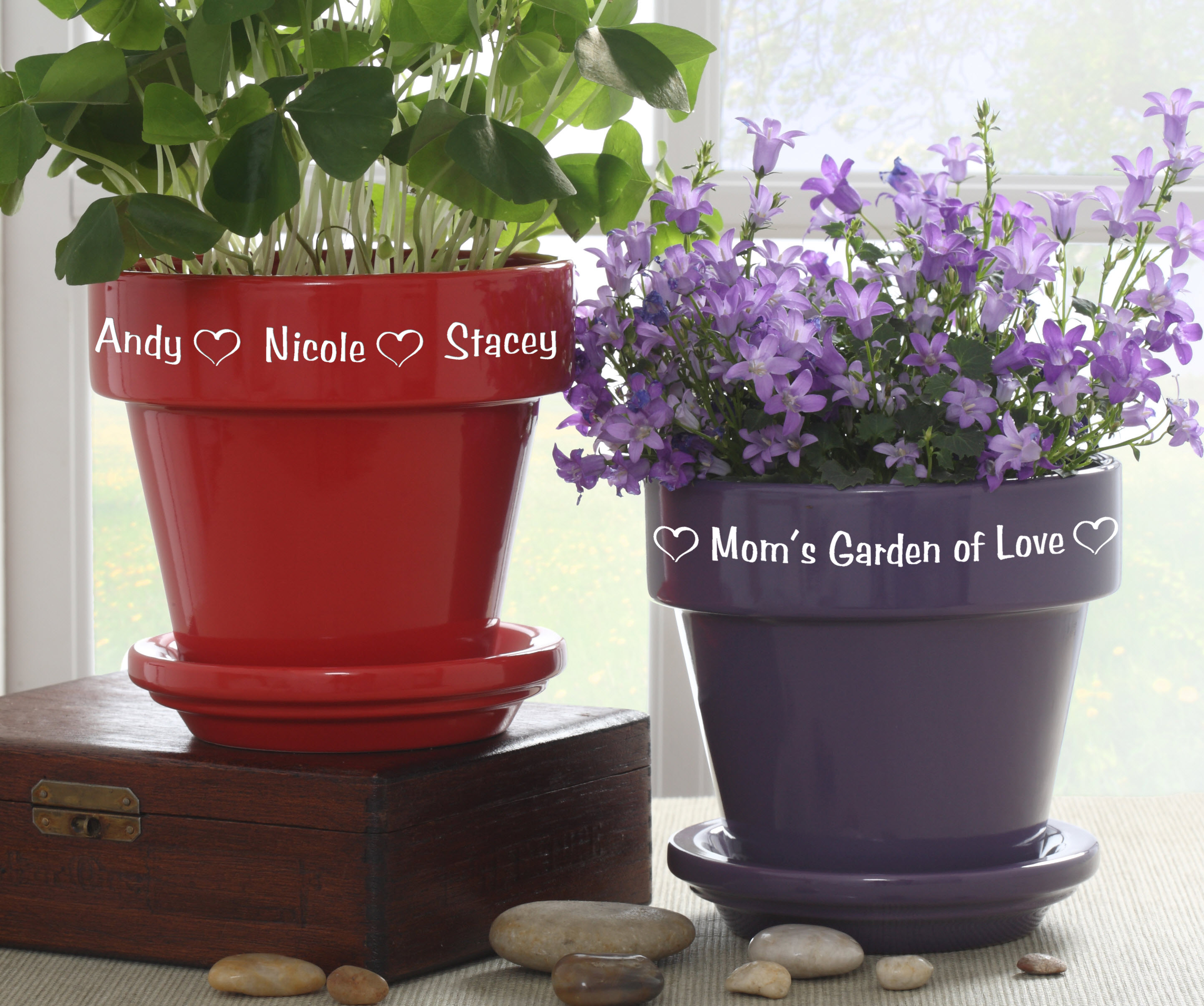 Image of: decorating flower pots