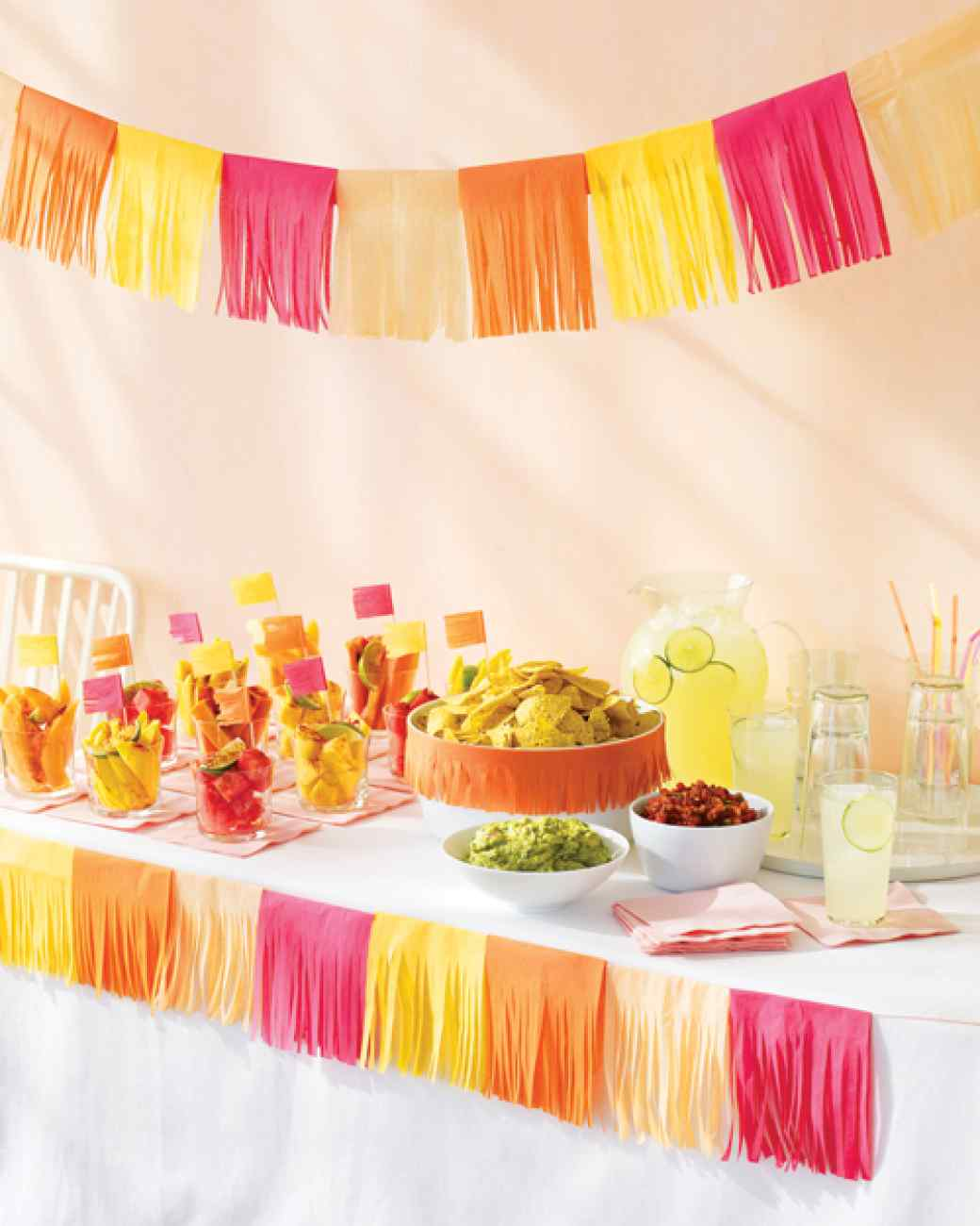Image of: decorating ideas for mexican themed party