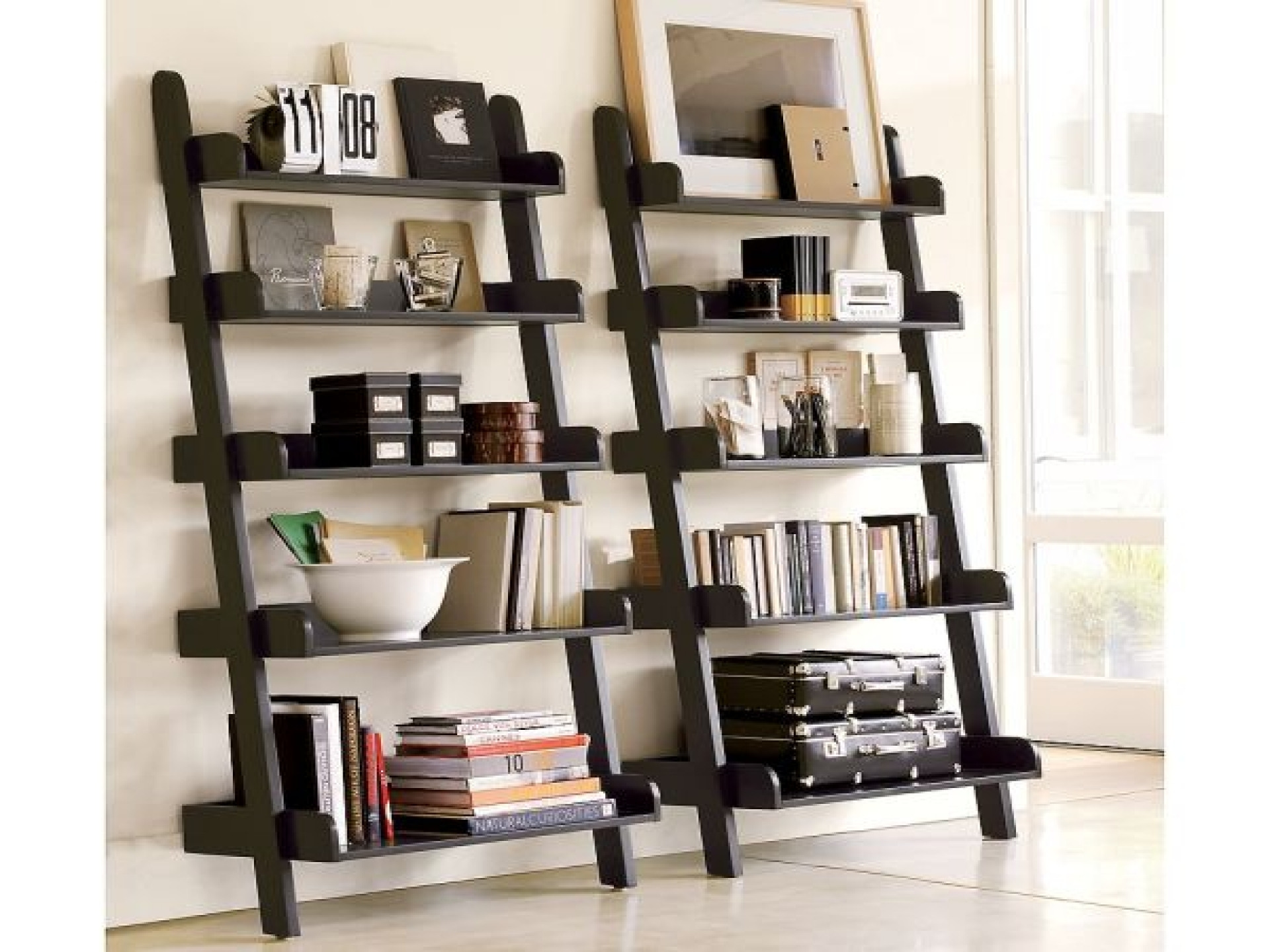 Image of: decorating shelves