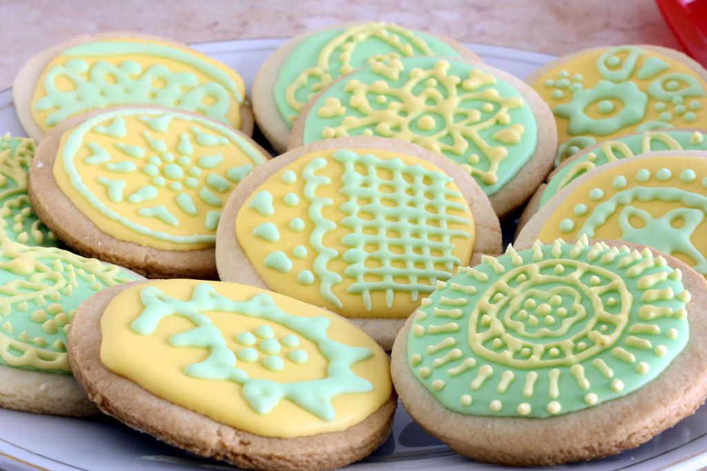 Image of: decorating sugar cookies