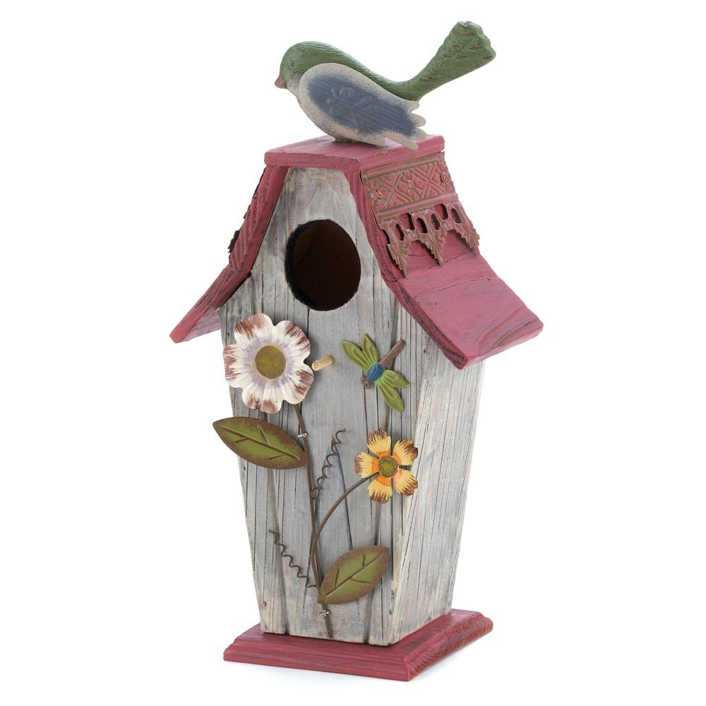 Image of: decorative bird house plans