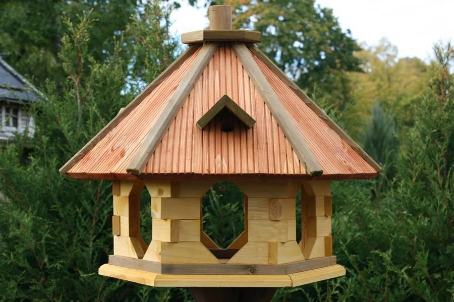 decorative bird houses for outside