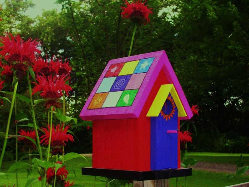 Image of: decorative bird houses