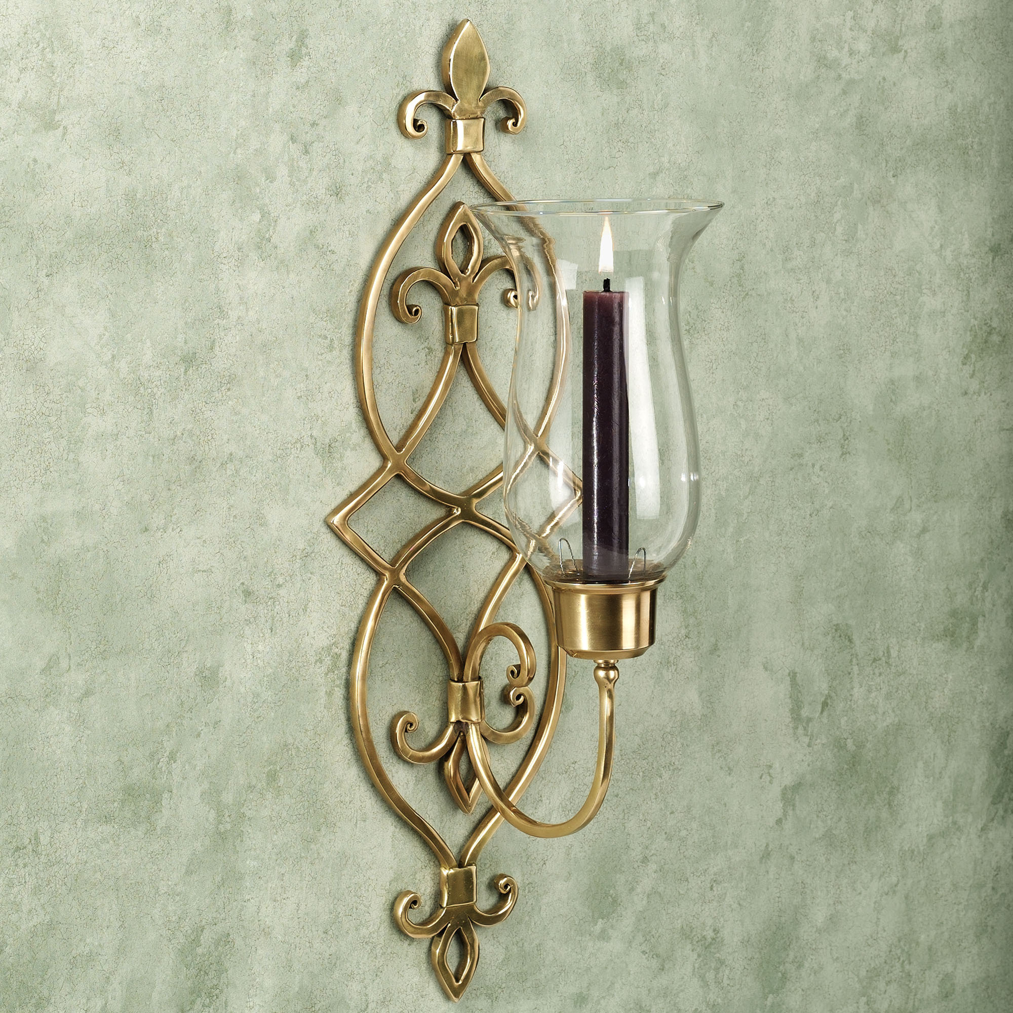 Image of: decorative candle wall sconces