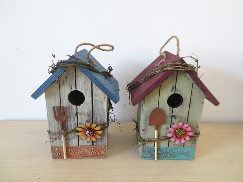 decorative indoor bird houses