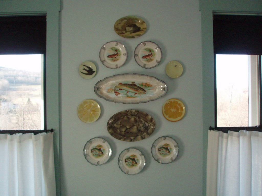 Image of: decorative plates for wall hanging