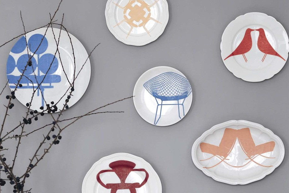 Image of: decorative plates for walls uk