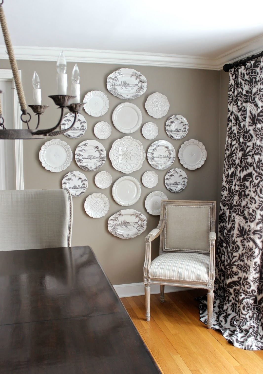 Image of: decorative plates for walls