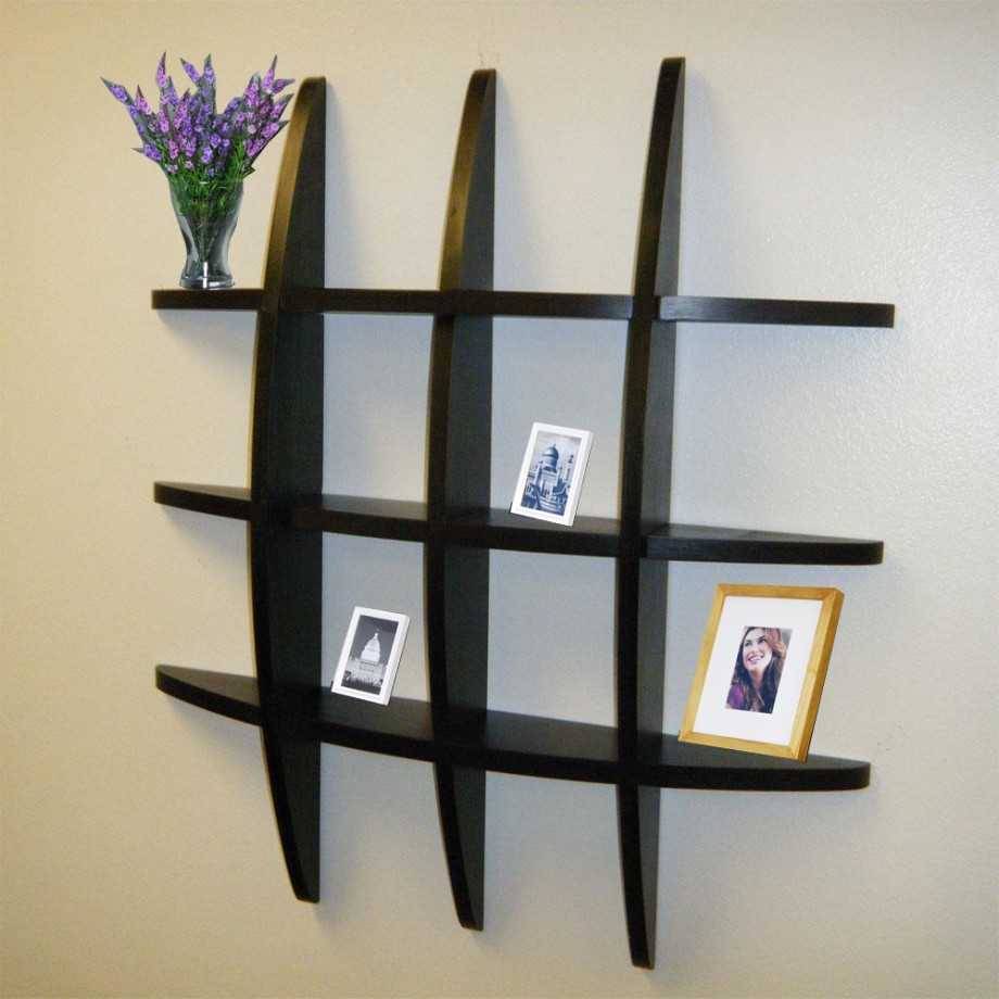 Image of: decorative shelves