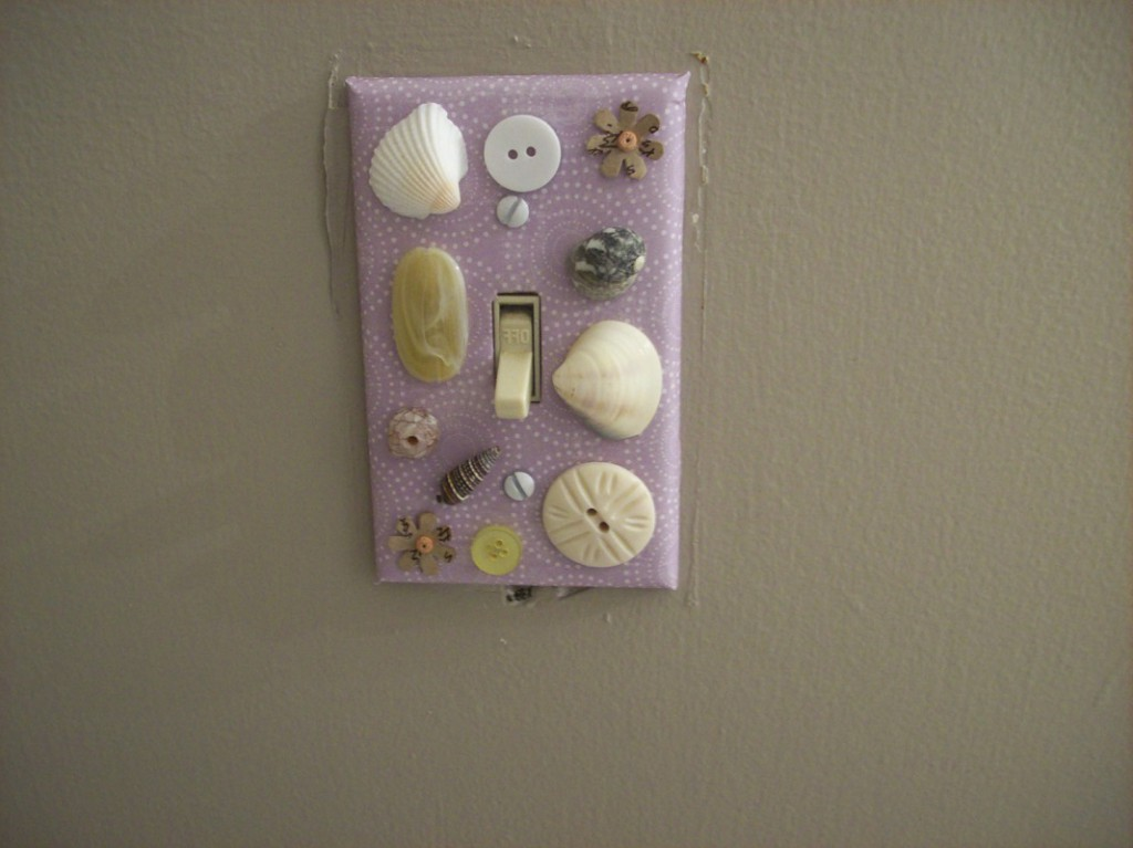 Image of: decorative switch plate cover uk
